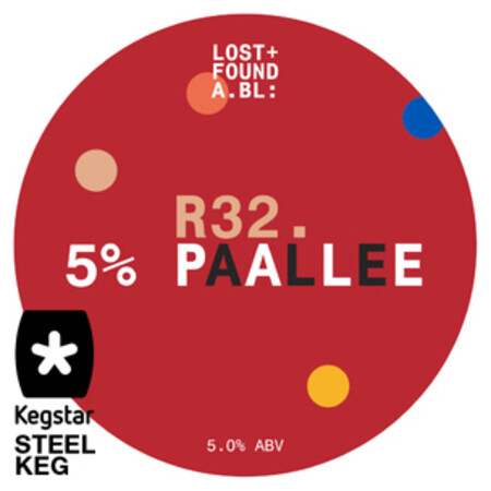 Lost+Found A.BL R32. 5% PAALLEE – Buy Beer online on EeBriaTrade.com