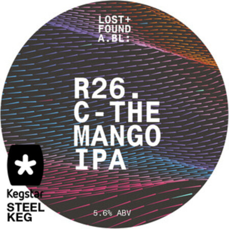 Lost+Found A.BL R26. IPA / C-The Man Go  – Buy Beer online on EeBriaTrade.com
