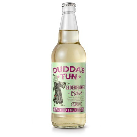 Dudda's Tun Cider Elderflower Cider – Buy Cider online on EeBriaTrade.com