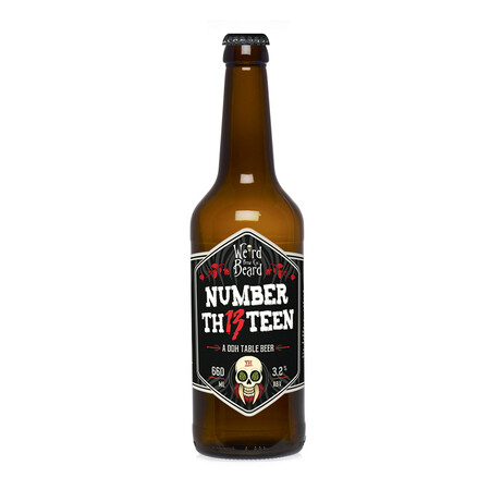 Weird Beard Brew Co The Number 13 – Buy Beer online on EeBriaTrade.com