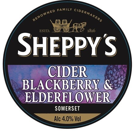 Sheppy's Cider Blackberry and Elderflower Cider – Buy Cider online on EeBriaTrade.com