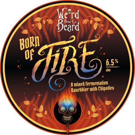 Weird Beard Brew Co Born Of Fire – Buy Beer online on EeBriaTrade.com