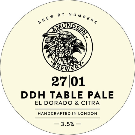 Brew By Numbers 27 DDH TABLE PALE – Buy Beer online on EeBriaTrade.com