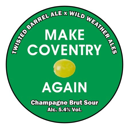 Twisted Barrel Make Coventry Grape Again – Buy Beer online on EeBriaTrade.com