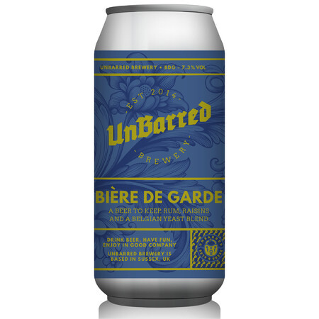 UnBarred Brewery Bière de Garde – Buy Beer online on EeBriaTrade.com