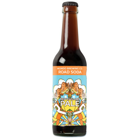 Mondo Brewing Road Soda - New England Pale Ale  – Buy Beer online on EeBriaTrade.com