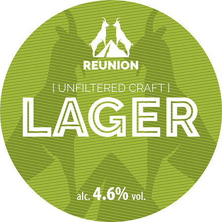 Reunion Ales Reunion Unfiltered Craft Lager – Buy Beer online on EeBriaTrade.com