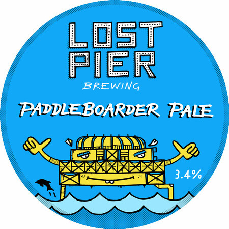 Lost Pier Brewing Paddleboarder Pale – Buy Beer online on EeBriaTrade.com