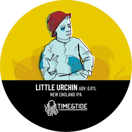Time and Tide Brewing Little Urchin NEIPA – Buy Beer online on EeBriaTrade.com