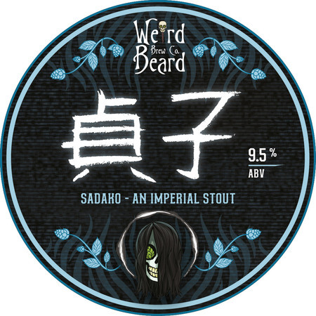 Weird Beard Brew Co Bourbon Barrel Aged Sadako – Buy Beer online on EeBriaTrade.com