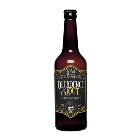 Weird Beard Brew Co Decadence Stout (BBE 14/10/19) – Buy Beer online on EeBriaTrade.com