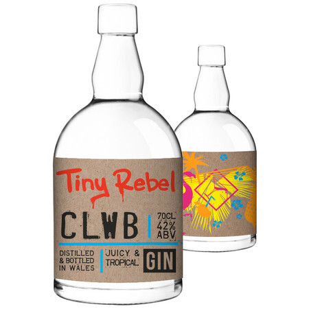 Tiny Rebel Brewing Clwb 70cl gin – Buy Spirits online on EeBriaTrade.com
