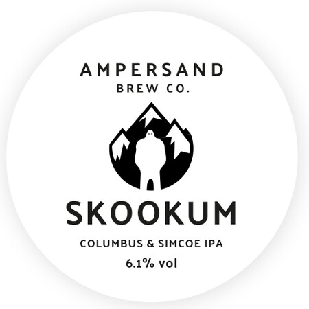 Ampersand Brew Co Skookum - Colubus & Simcoe IPA – Buy Beer online on EeBriaTrade.com