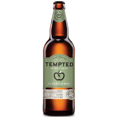 Tempted Cider Elderflower Cider – Buy Cider online on EeBriaTrade.com