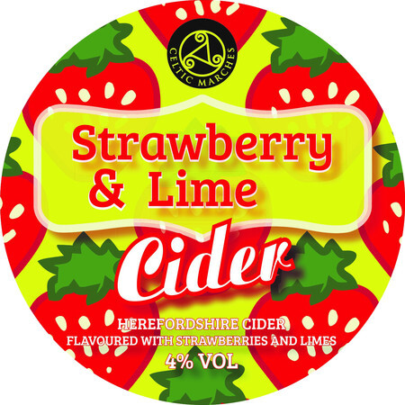 Celtic Marches Strawberry and Lime (30l) – Buy Cider online on EeBriaTrade.com