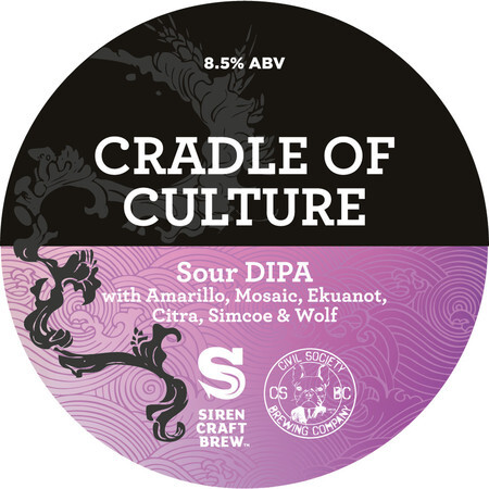 Siren Craft Brew Cradle of Culture – Buy Beer online on EeBriaTrade.com