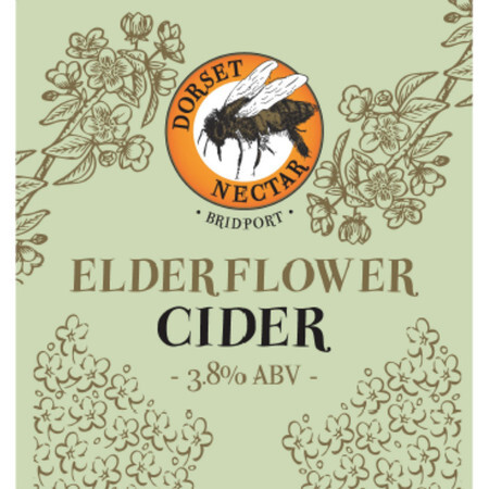 Dorset Nectar Cider Elderflower Cider  – Buy Cider online on EeBriaTrade.com