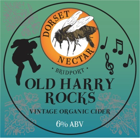 Dorset Nectar Cider Old Harry Rocks Vintage Dry – Buy Cider online on EeBriaTrade.com