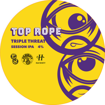 Top Rope Brewing Triple Threat (Collab with Barrier Brewing & Hackney Brewing) – Buy Beer online on EeBriaTrade.com