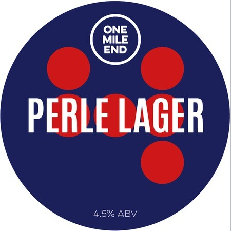 One Mile End Perle Lager – Buy Beer online on EeBriaTrade.com
