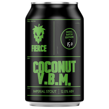 Fierce Beer Coconut V.B.M (Case of 12) – Buy Beer online on EeBriaTrade.com