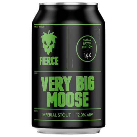 Fierce Beer Very Big Moose (Case of 12) – Buy Beer online on EeBriaTrade.com