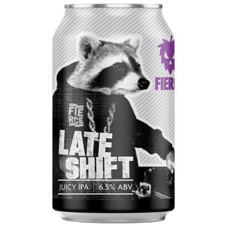 Fierce Beer Late Shift (Case of 12) – Buy Beer online on EeBriaTrade.com