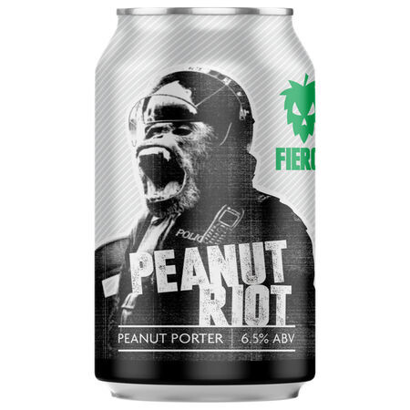 Fierce Beer Peanut Riot (Case of 12) – Buy Beer online on EeBriaTrade.com