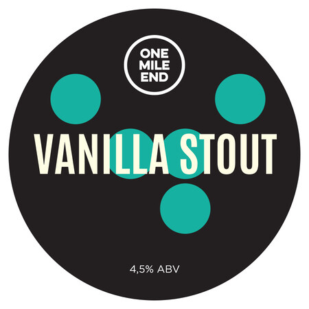 One Mile End Vanilla Stout – Buy Beer online on EeBriaTrade.com