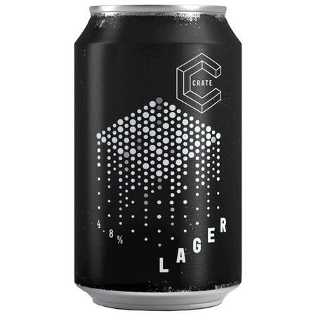 CRATE Brewery CRATE Lager Can – Buy Beer online on EeBriaTrade.com