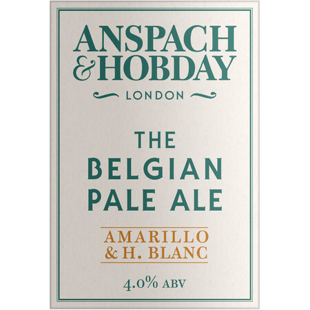 Anspach & Hobday The Belgian Pale Ale (Cask) – Buy Beer online on EeBriaTrade.com