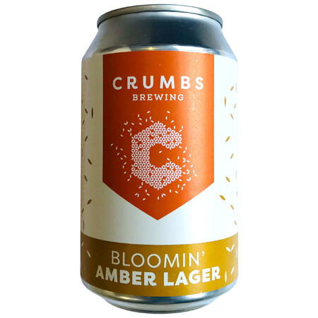 Crumbs Brewing Bloomin' Amber Lager – Buy Beer online on EeBriaTrade.com