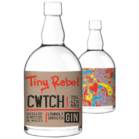 Tiny Rebel Brewing Cwtch 70cl Gin – Buy Spirits online on EeBriaTrade.com