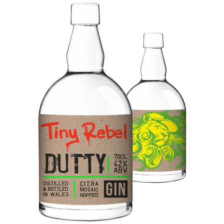 Tiny Rebel Brewing Dutty 70cl Gin – Buy Spirits online on EeBriaTrade.com