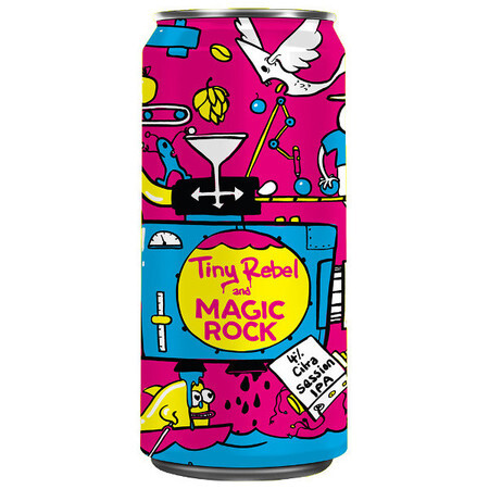 Tiny Rebel Brewing 7th Birthday Tiny Rebel x Magic Rock – Buy Beer online on EeBriaTrade.com