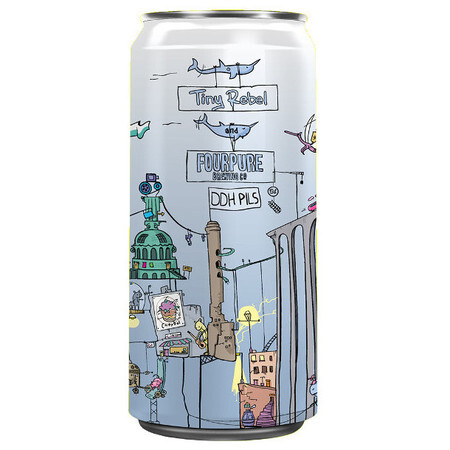 Tiny Rebel Brewing 7th Birthday Tiny Rebel x Fourpure – Buy Beer online on EeBriaTrade.com