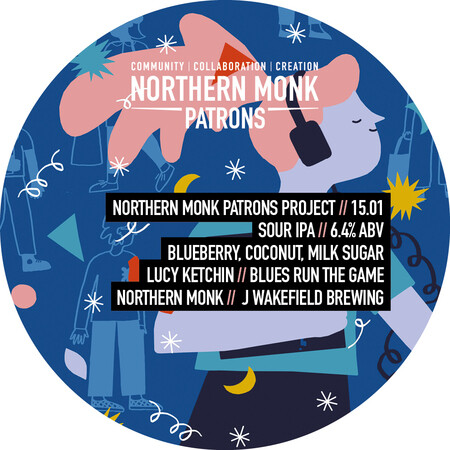 Northern Monk Brew Co. Patrons Project 15.01//Blues Run The Game – Buy Beer online on EeBriaTrade.com