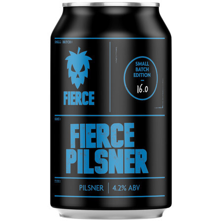 Fierce Beer Fierce Pilsner (GF) – Buy Beer online on EeBriaTrade.com