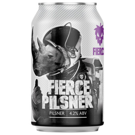 Fierce Beer Fierce Pilsner (GF) (Case of 12) – Buy Beer online on EeBriaTrade.com