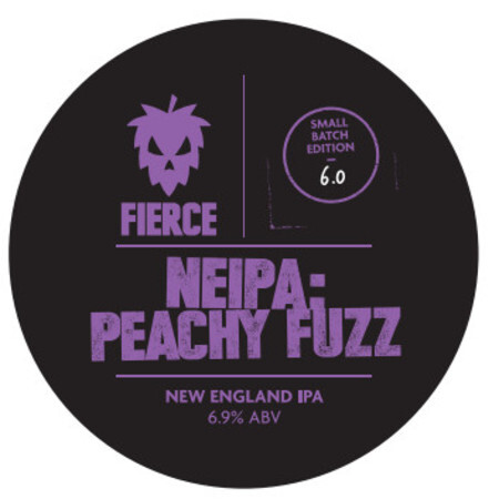 Fierce Beer NEIPA: Peachy Fuzz – Buy Beer online on EeBriaTrade.com