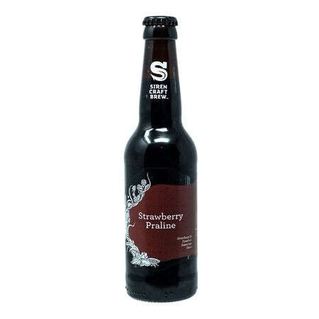 Siren Craft Brew Strawberry Praline - Collaboration with Track Brewing – Buy Beer online on EeBriaTrade.com