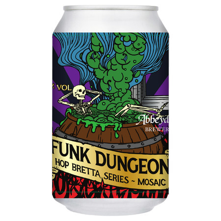Abbeydale Brewery Funk Dungeon - Hop Bretta: Mosaic – Buy Beer online on EeBriaTrade.com