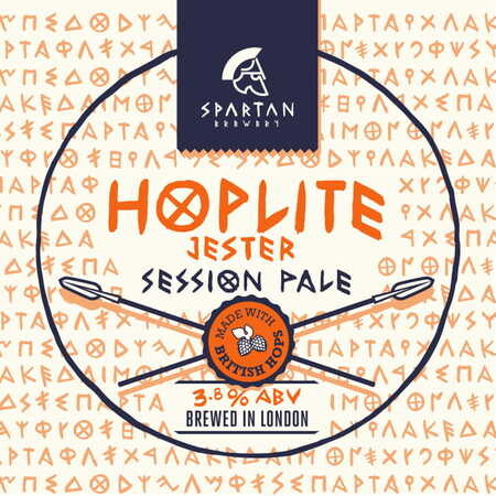 Spartan Brewery Hoplite: Jester – Buy Beer online on EeBriaTrade.com