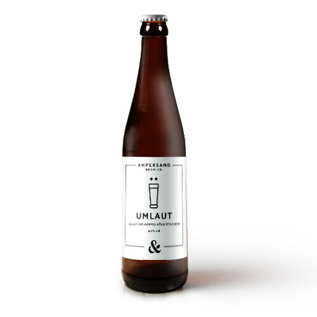 Ampersand Brew Co Umlaut - Galaxy Dry Hopped Kln Style Beer – Buy Beer online on EeBriaTrade.com