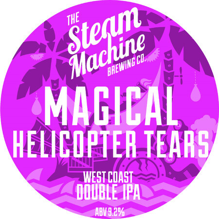 Steam Machine Brewing Co Magical Helicopter Tears – Buy Beer online on EeBriaTrade.com