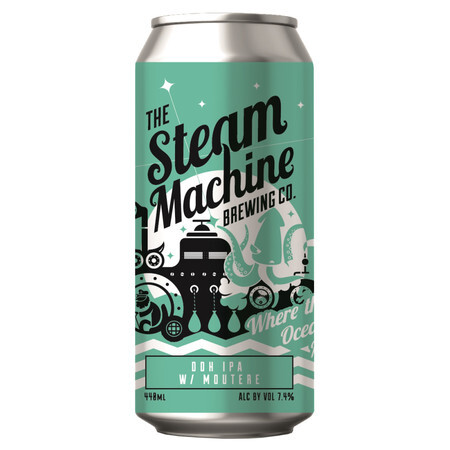 Steam Machine Brewing Co Where The Oceans Meet – Buy Beer online on EeBriaTrade.com