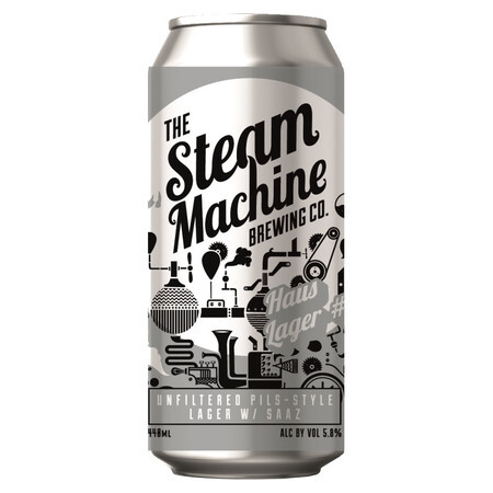 Steam Machine Brewing Co Haus Lager – Buy Beer online on EeBriaTrade.com
