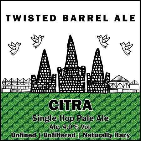 Twisted Barrel Single Hop Series: Citra  – Buy Beer online on EeBriaTrade.com
