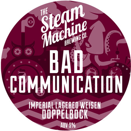 Steam Machine Brewing Co Bad Communication – Buy Beer online on EeBriaTrade.com