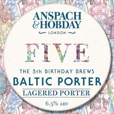 Anspach & Hobday The Baltic Porter – Buy Beer online on EeBriaTrade.com